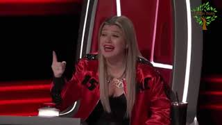 Blake Shelton Is AMAZED by Mikele Buck's Brooks & Dunn Cover   The Voice 2018 Blind Auditions