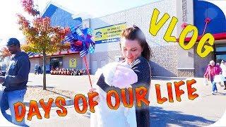 Жизнь в США: VLOG | Дни Нашей Жизни | Гуляем, Магазины, Готовим, Растём November 3-6 2017
