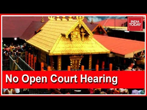 CJI Refuses To Hear Sabarimala Review Petitions In Open Court