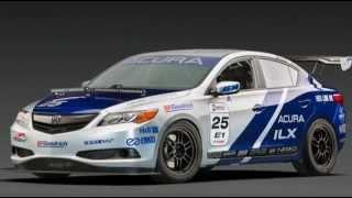 Acura ILX Endurance Racer 2013 Videos