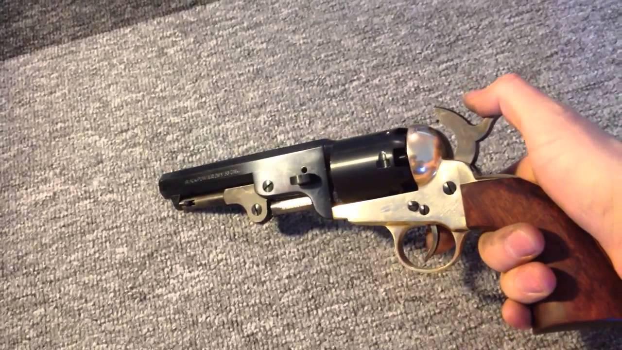 Pietta Colt 1851 problem by Wojciech PVB