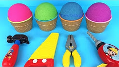 Kinetic Sand Ice Cream Surprise Tools Surprise Toys Fun for Kids