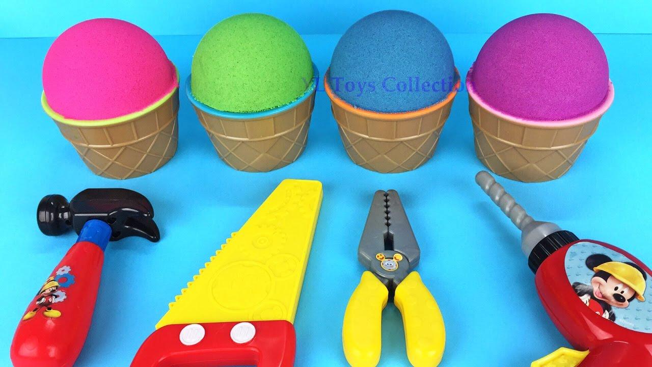 57c9044eb1b Kinetic Sand Ice Cream Surprise Tools Surprise Toys Fun for Kids ...