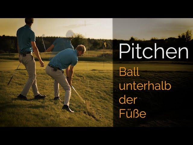 Pitchen – Ball unterhalb der Füße