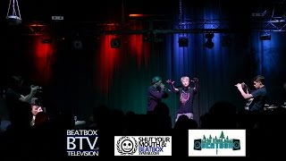 Paris Reed vs Erratic / Top 16 - Midwest Beatbox Battle 2015