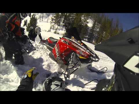 2016 Snowmobiling - Upper Michigan and Togwotee Wyoming - 1080P
