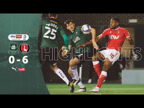Plymouth Charlton Goals And Highlights