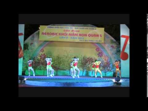 Trường Mầm non Hoạ Mi 1 Q5 - Giải A Liên hoan Aerobic khối mầm non quận 5 năm 2014