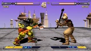 Star Wars Masters of Teras Kasi PS1 (Thok) Part 1 Arcade Mode HD