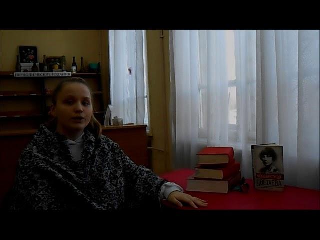 Изображение предпросмотра прочтения – ЛюдмилаВолкова читает произведение «Книги в красном переплете» М.И.Цветаевой