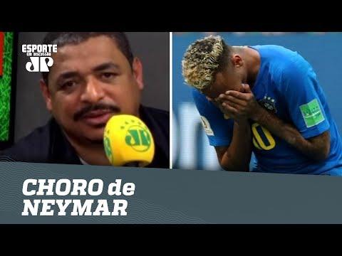 OLHA O Que VAMPETA Achou Do CHORO De NEYMAR!