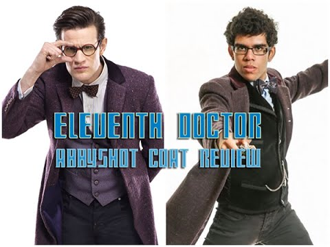 11th Doctor Cosplay Part Review: The Abbyshot Purple Coat
