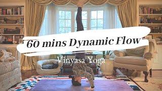【Yoga】60mins Dynamic Vinyasa Flow ヘッドスタンドビンヤサフローヨガ