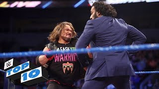 Top 10 SmackDown LIVE moments: WWE Top 10, October 17, 2017