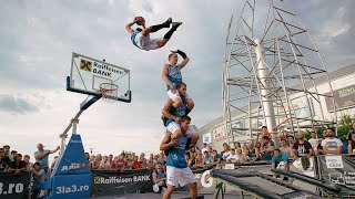 Dunking Devils On Tour - Bucharest, 3on3 Streetball