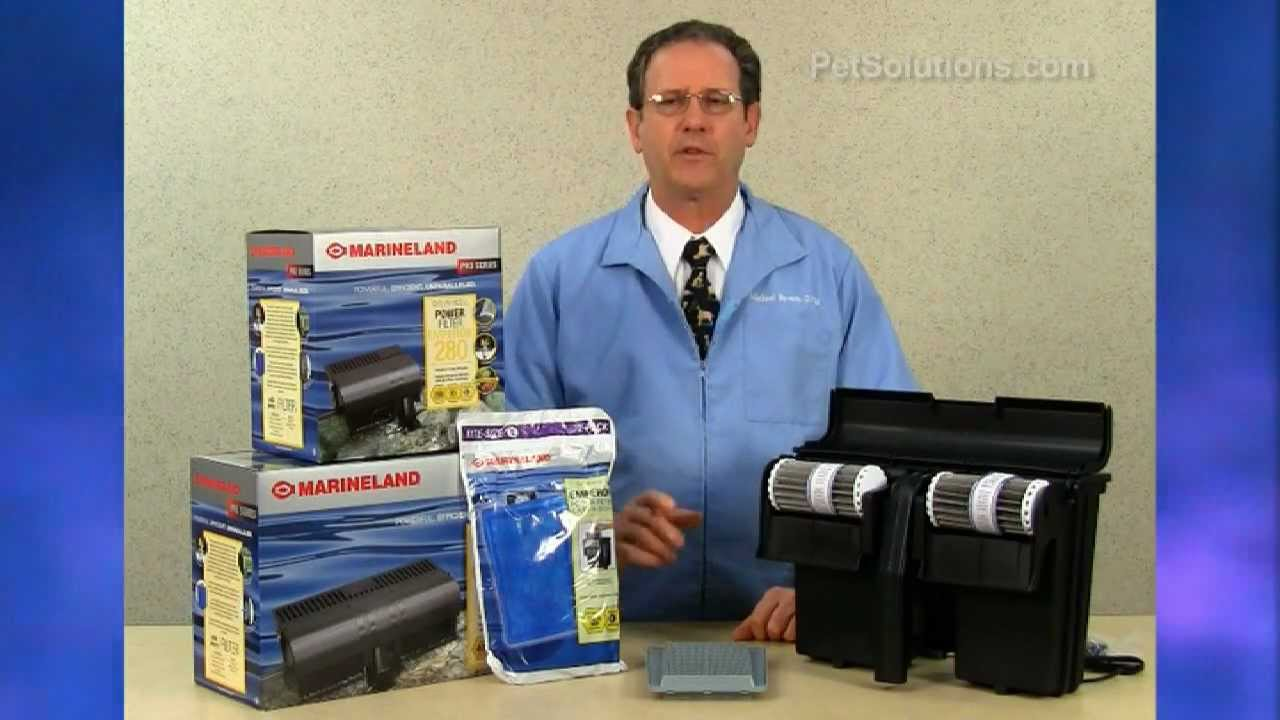 PetSolutions: Emperor Power Filters by Marineland - YouTube