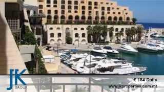 Apartment in Portomaso for Short Let in Malta, €184 Daily