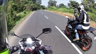 KTM RC 200 vs Honda CBR 250R | Which one to buy| ft. Road runner | comparison review