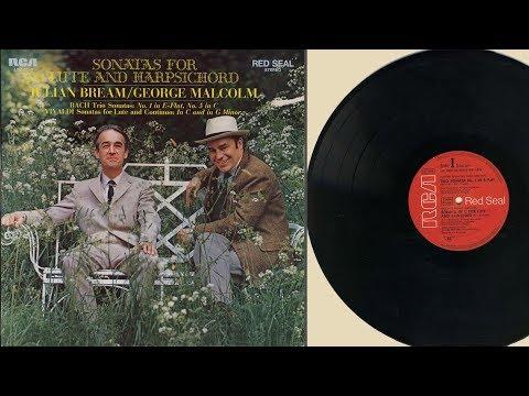 George Malcolm & Julian Bream (harpsichord & lute) Sonatas for lute and harpsichord