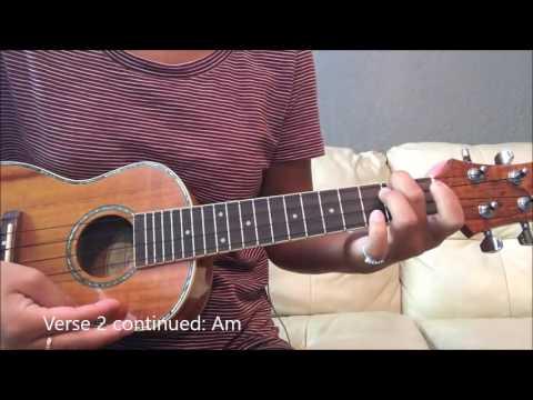 LANE BOY Acoustic Ukulele Tutorial (Tyler Joseph