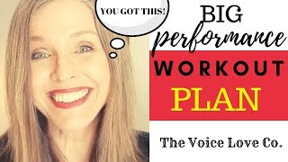 Your Vocal Workout Plan | Big Performance Preparation Tips | Christi Bovee