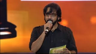 Vanitha Film Awards 2015 Part 5 Farhan Fazil is the Best New comer Actor.