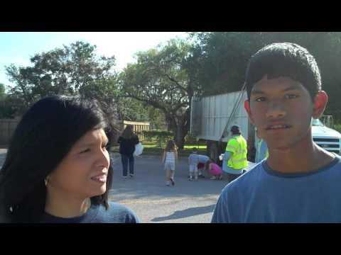 Pride on the street - Baker Middle School volunteers