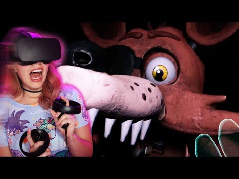 IT'S SO SCARY! - Five Night's At Freddy's VR (FNAF VR: Help Wanted)