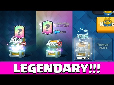 Legendary aus Riesentruhe! Public Chest Opening • Clash Royale deutsch