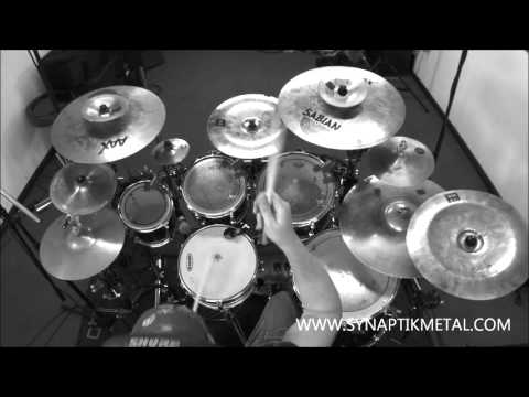 SYNAPTIK    'A MAN DIES' Drum Playthrough - Progressive Metal