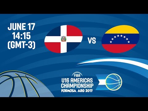 Dominican Republic vs Venezuela - Reclassification 5-8 - FIBA U16 Americas Championship 2017
