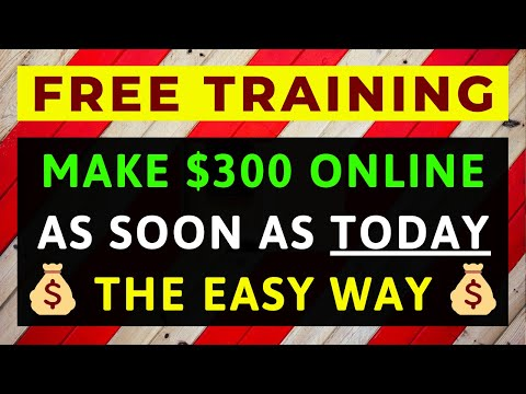How To Make $300 a Day Online From Start to Finish - Complete 'Step by Step' Training Series