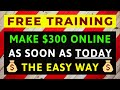 How To Make  300 a Day Online From Start to Finish – Complete   39 Step by Step  39  Training Series