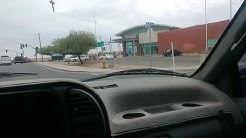 Through the streets of San Luis AZ.