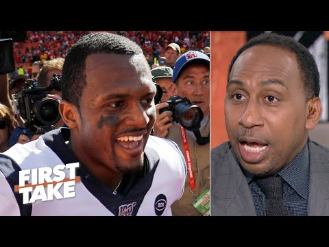 Deshaun Watson is more valuable than Patrick Mahomes, but he's not better - Stephen A. | First Take
