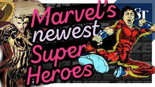 Marvel's Newest Superheroes | Bite-Size News with Sam Jo | The Straits Times (Vertical Video)