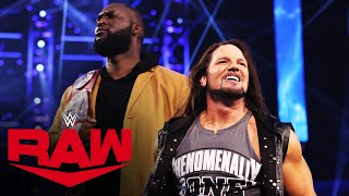 The New Day take issue with AJ Styles and Omos' vacation: Raw, May 3, 2021