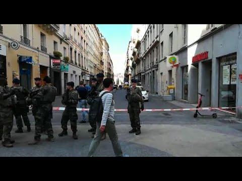afpes: Explosión de un paquete bomba en calle de Lyon
