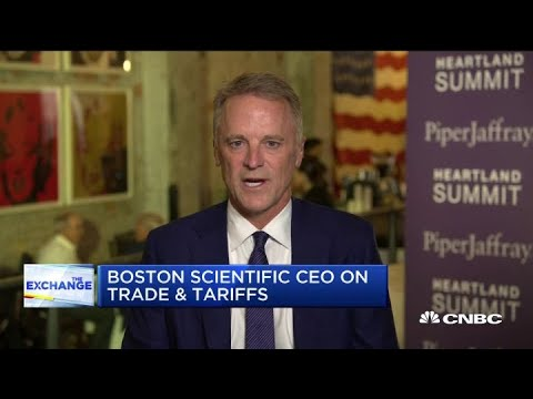 Watch CNBC's full interview with Boston Scientific CEO Mike Mahoney