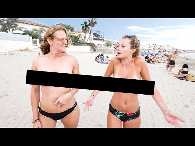 法国女生在海边真的不穿内衣吗?