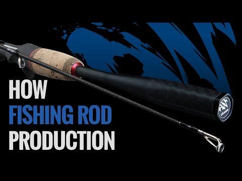 OKUMA - How To Made Okuma Fishing Rod?