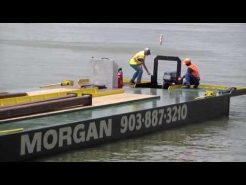 The Lake Guy Cedar Creek Lake - Morgan Marine Barge Launch