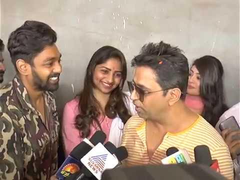 BHARJARI  MOVIE || Druva Sarja & Arjun Sarja & Rachita ram about BHARJARI