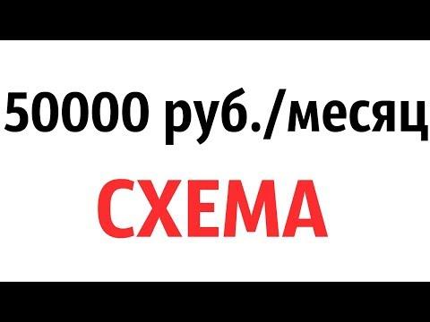 КАК ЗАРАБОТАТЬ ВКОНТАКТЕ (50000 руб./месяц) - СХЕМА ЗАРАБОТКА