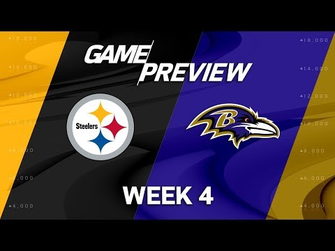 Pittsburgh Steelers vs. Baltimore Ravens   Week 4 Game Preview   NFL Playbook