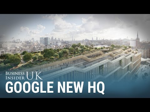 Google's new London HQ will have running tracks and a rooftop meadow for its 7,000 employees