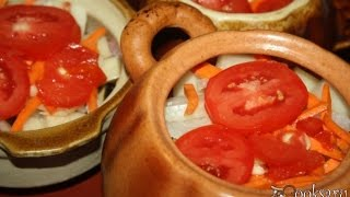 Чанахи из индейки в горшочках(Чанахи из индейки в горшочках - очень вкусное, сытное, ароматное и полезное блюдо грузинской кухни. Я готови..., 2016-09-12T06:35:31.000Z)