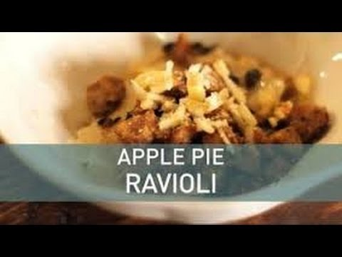 Food Deconstructed - Apple Pie Ravioli