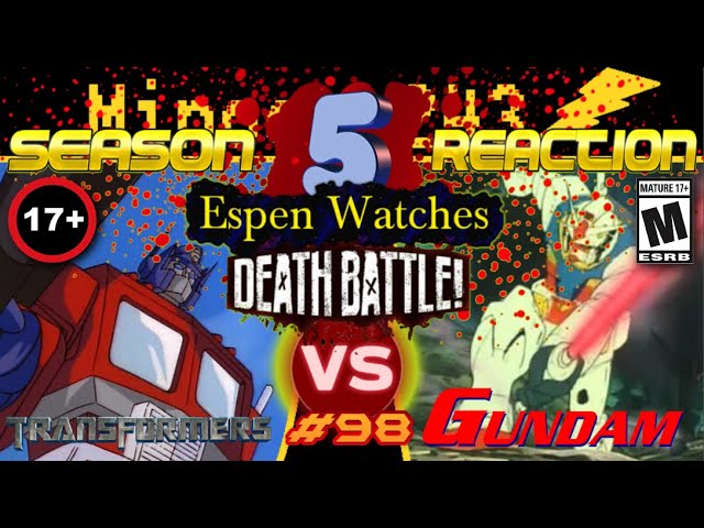 Espen Watches | DEATH BATTLE - Optimus Prime VS Gundam #1