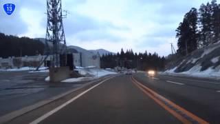 【車載動画】国道13号 栗子峠